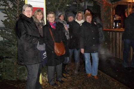 Besuch beim Weihnachtsmarkt Goslar